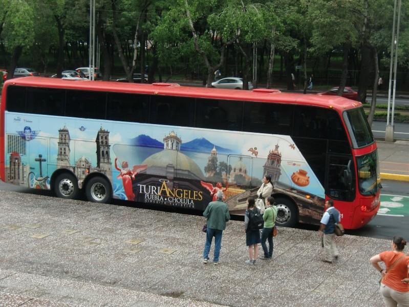 Touribus nach Puebla