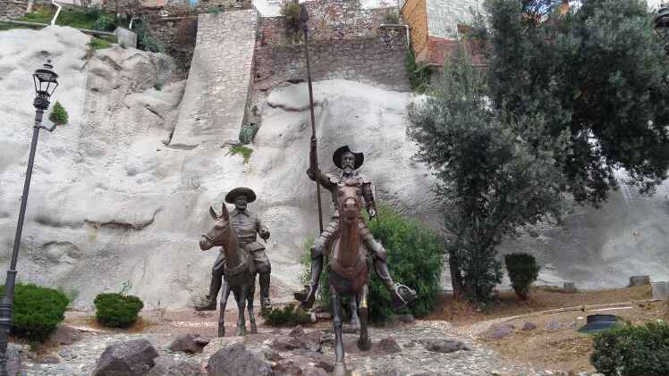 Estatue Don Quijote