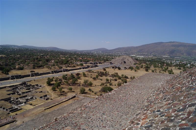 Teotihuacan - Sonnenpyramide