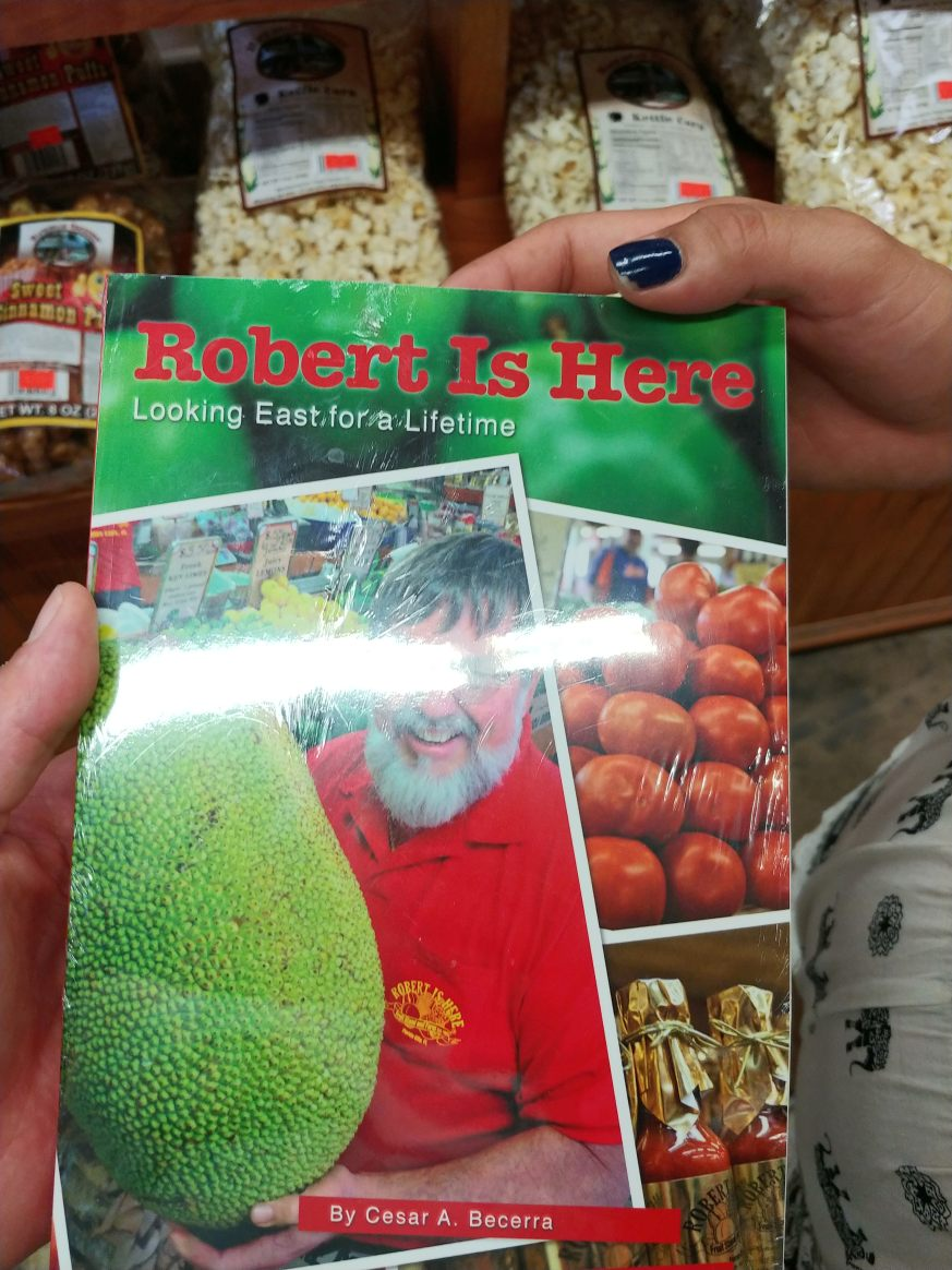 Robert is here Fruit Stand