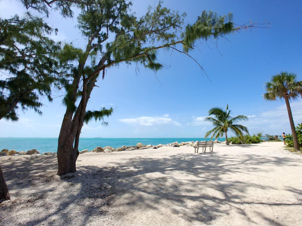 Beach Fort Zachary