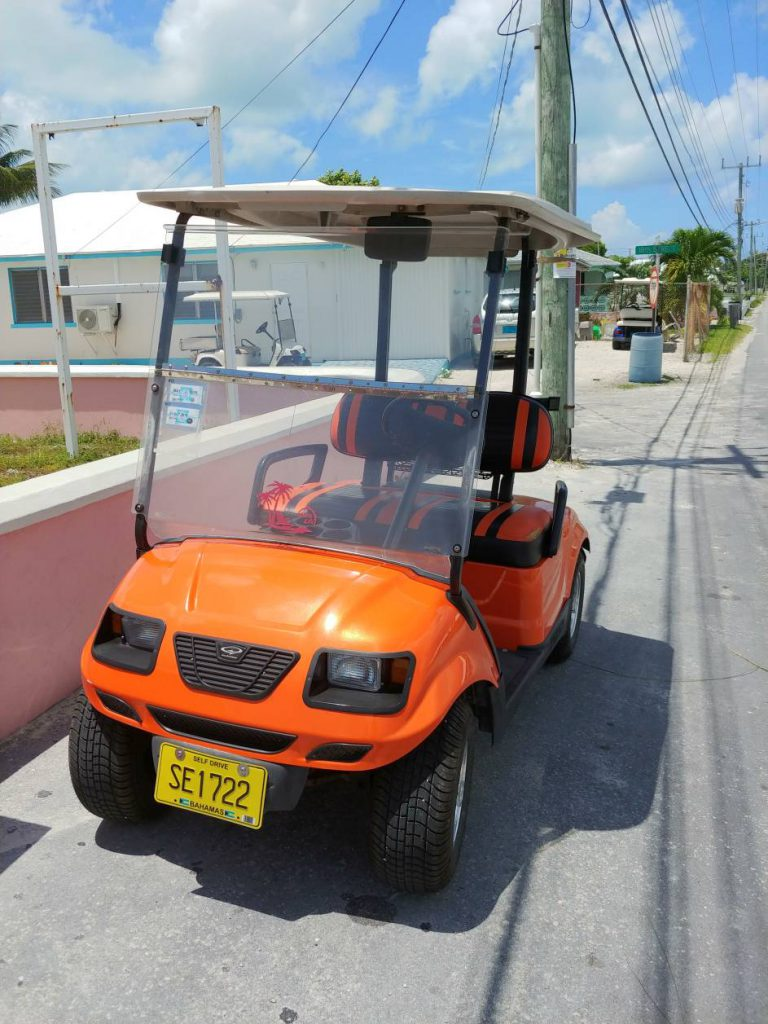 Spanish Wells Golf Cart