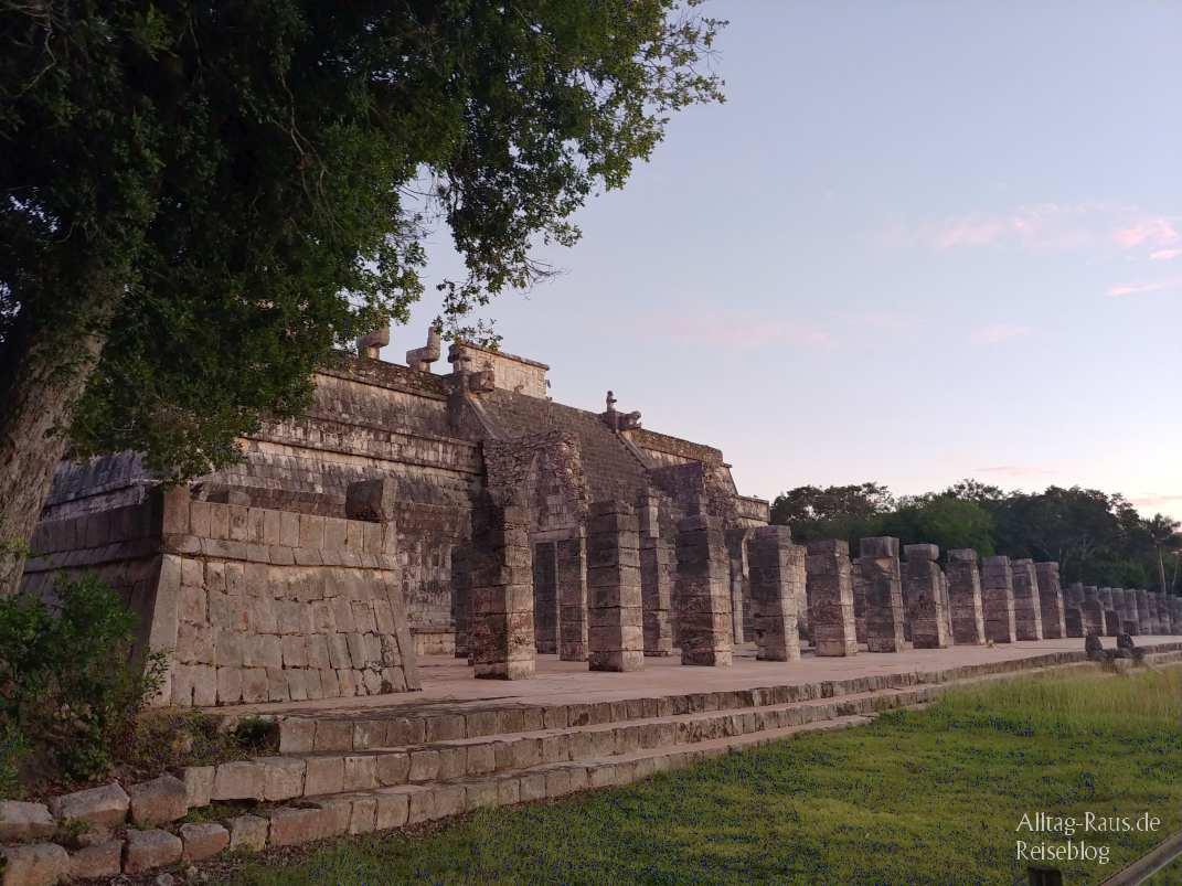 Templo de los Guerreros Chichen Itza