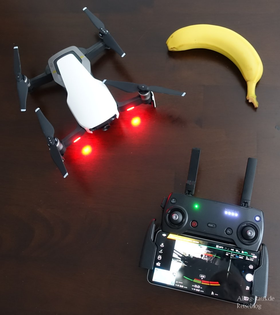 Mavic Air FB Banane